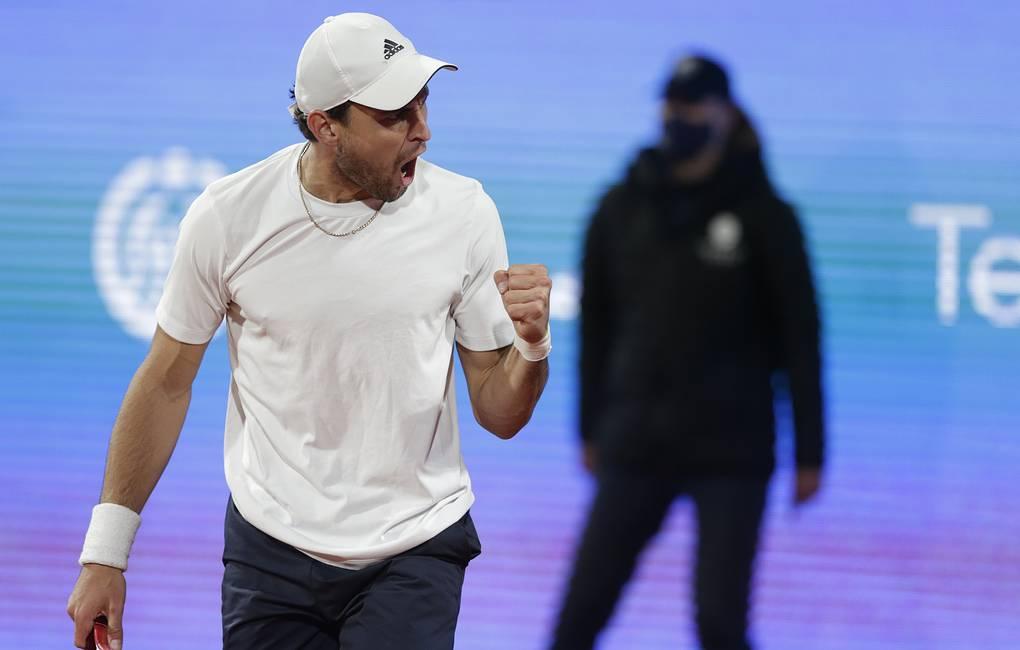 Карацев вышел во второй круг теннисного турнира серии «Мастерс» в Мадриде
