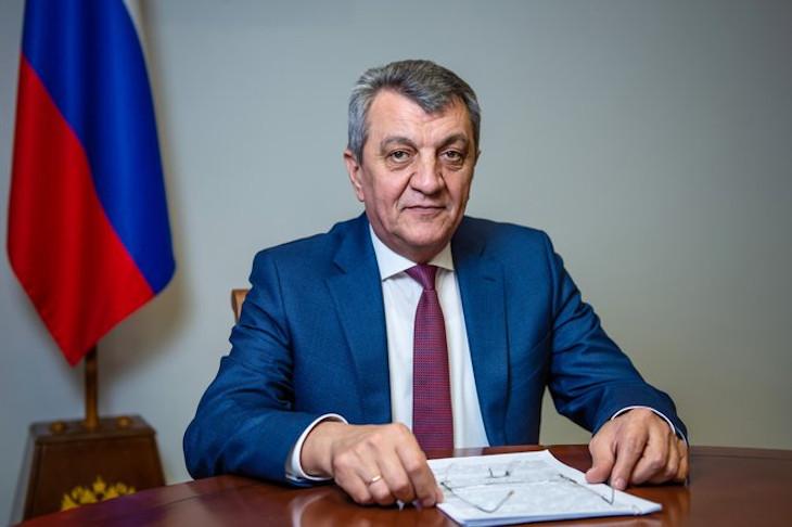 Сергей Меняйло поздравил жителей Северной Осетии с Днем Победы
