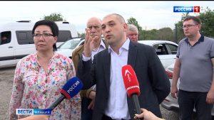В Северной Осетии прошло выездное заседание комиссии Общественной палаты РФ по ЖКХ, строительству и дорогам