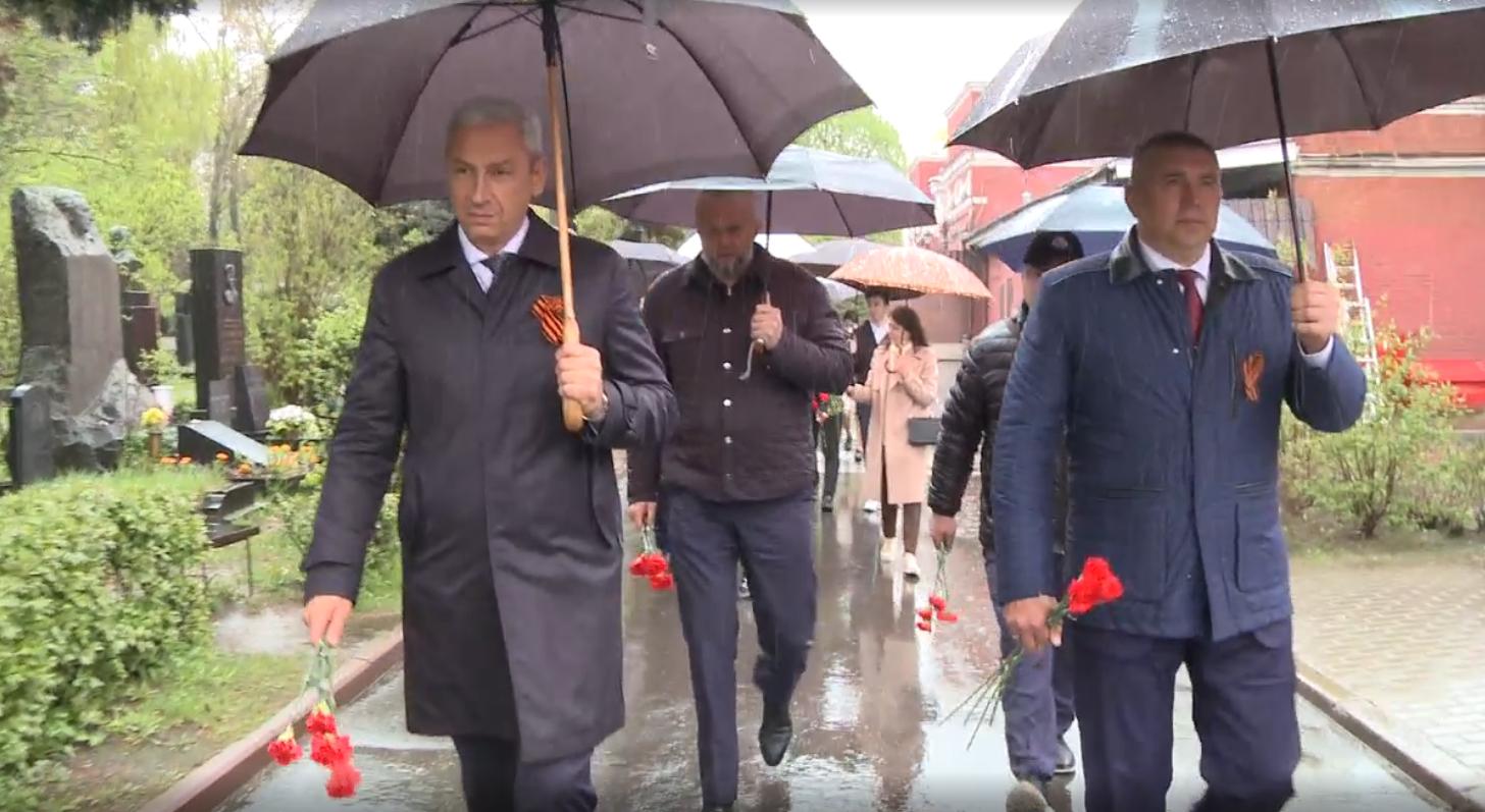 Представители Северной Осетии в Москве почтили память погибших в Великой Отечественной войне