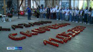 В Беслане почтили память жертв трагедии в Татарстане