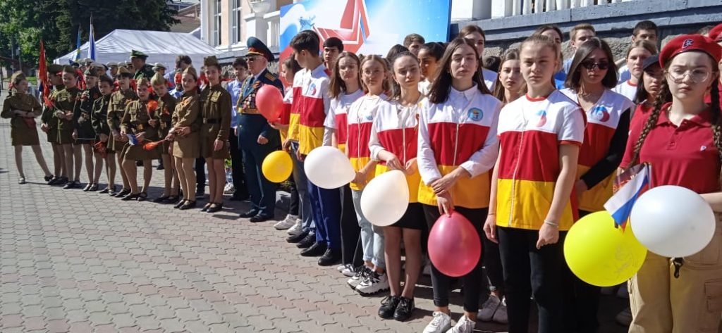 Во Владикавказ прибыл агитационный поезд «Мы – армия страны! Мы – армия народа!»