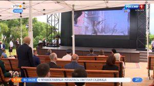 На «Барбашовом поле» начался показ патриотических фильмов