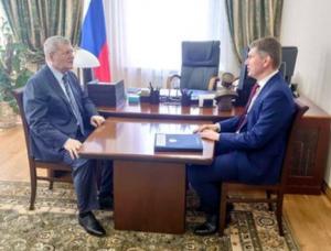Юрий Чайка встретился с Министром экономического развития РФ Максимом Решетниковым