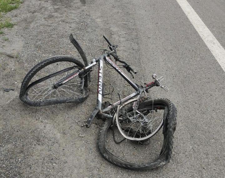 МВД проводит проверку по факту смертельного ДТП с участием 20-летнего велосипедиста на Транскаме