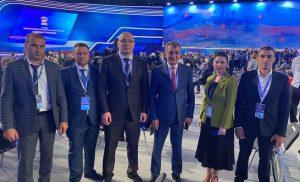Сергей Меняйло возглавил делегацию Северной Осетии на XX съезде «Единой России»