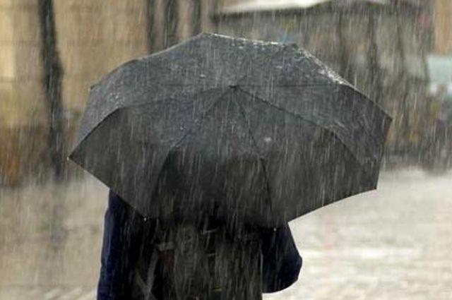 На территории Северной Осетии ожидаются сильные дожди