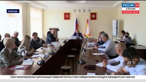 В Алагире обсудили строительство социально важных объектов