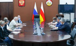 Сергей Меняйло поддержал предложение о возрождении футбольной команды «Иристон-Автодор»