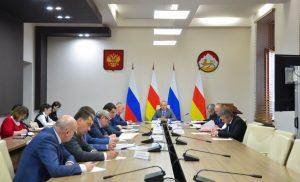 Темпы строительства социально значимых объектов Северной Осетии обсудили в правительстве республики