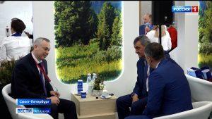 Делегация Северной Осетии на ПМЭФ-2021: рабочие встречи, обсуждение ключевых тем