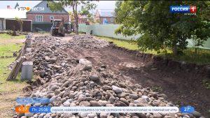 В Чиколе приступили к строительству ФОКа