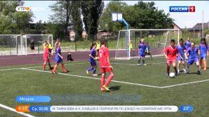 В Моздоке прошел детский турнир по футболу