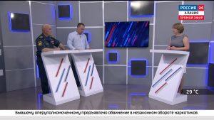 Россия 24. Купальный сезон в Северной Осетии