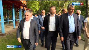 В Северную Осетию приехал помощник президента Максим Орешкин