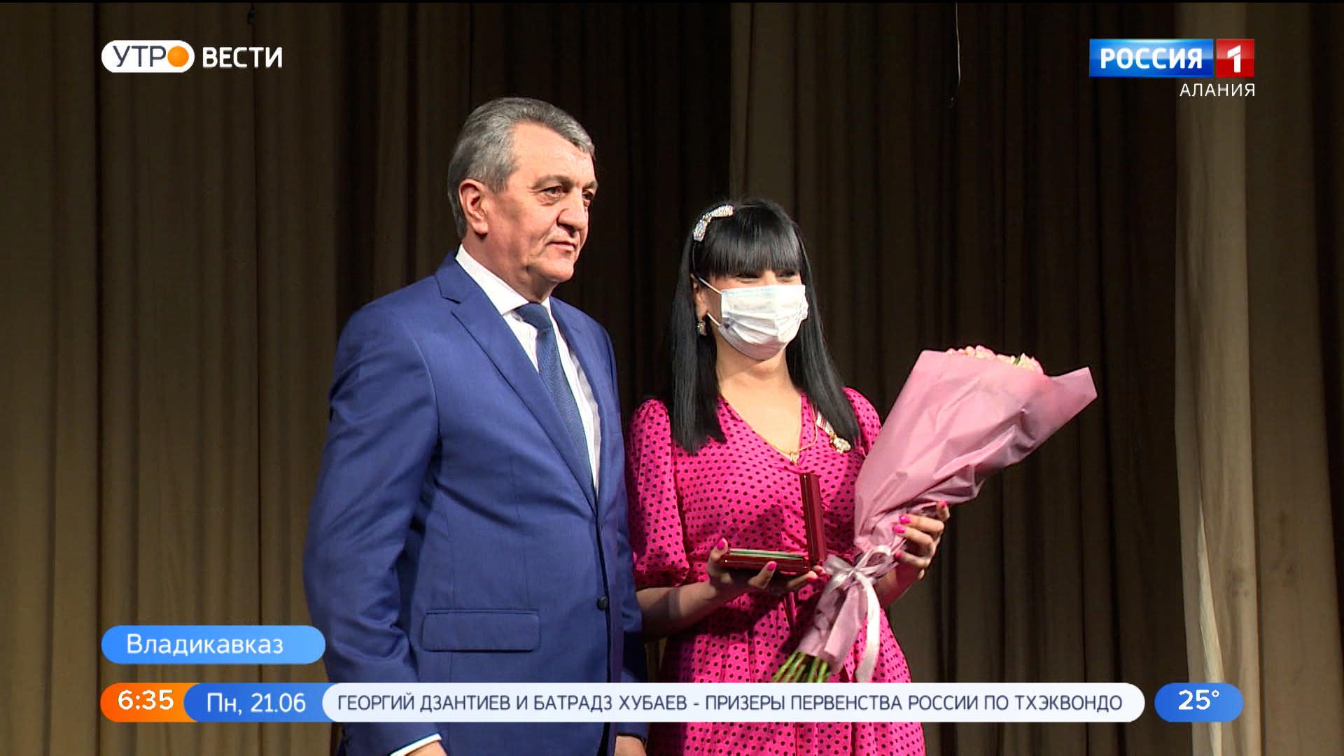 В Русском театре чествовали медработников Северной Осетии