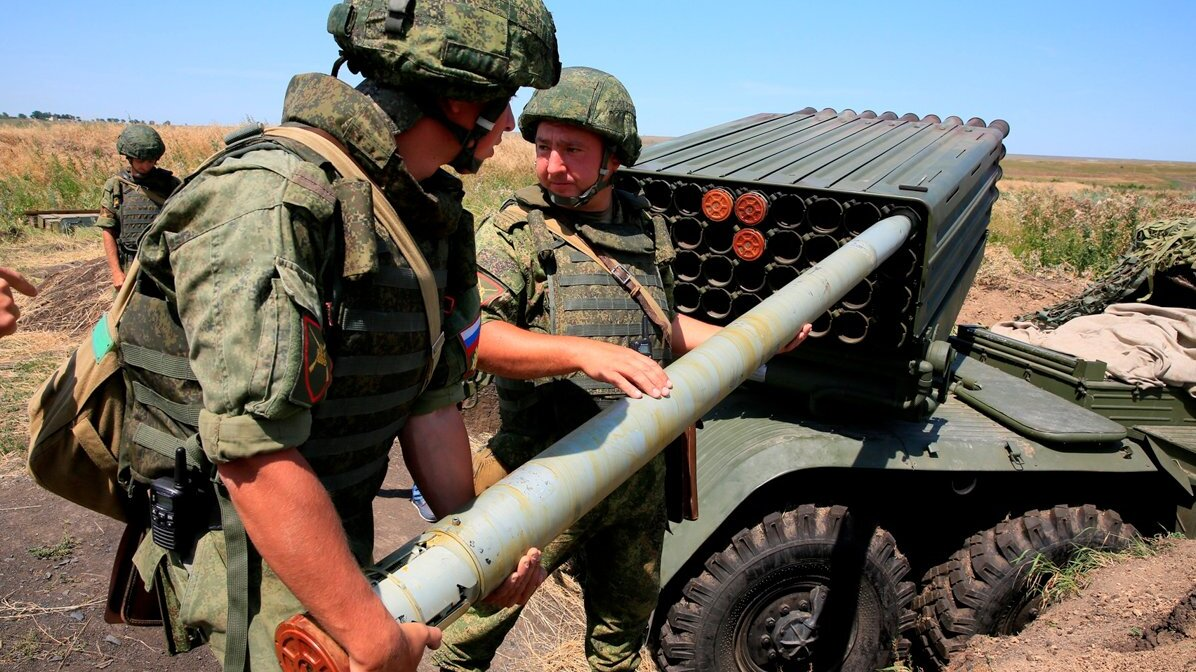 Ракетчики ЮВО совершили марш и уничтожили командные пункты условного противника в Северной Осетии