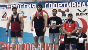 Четыре медали завоевали осетинские тяжелоатлеты на первенстве России среди юниоров