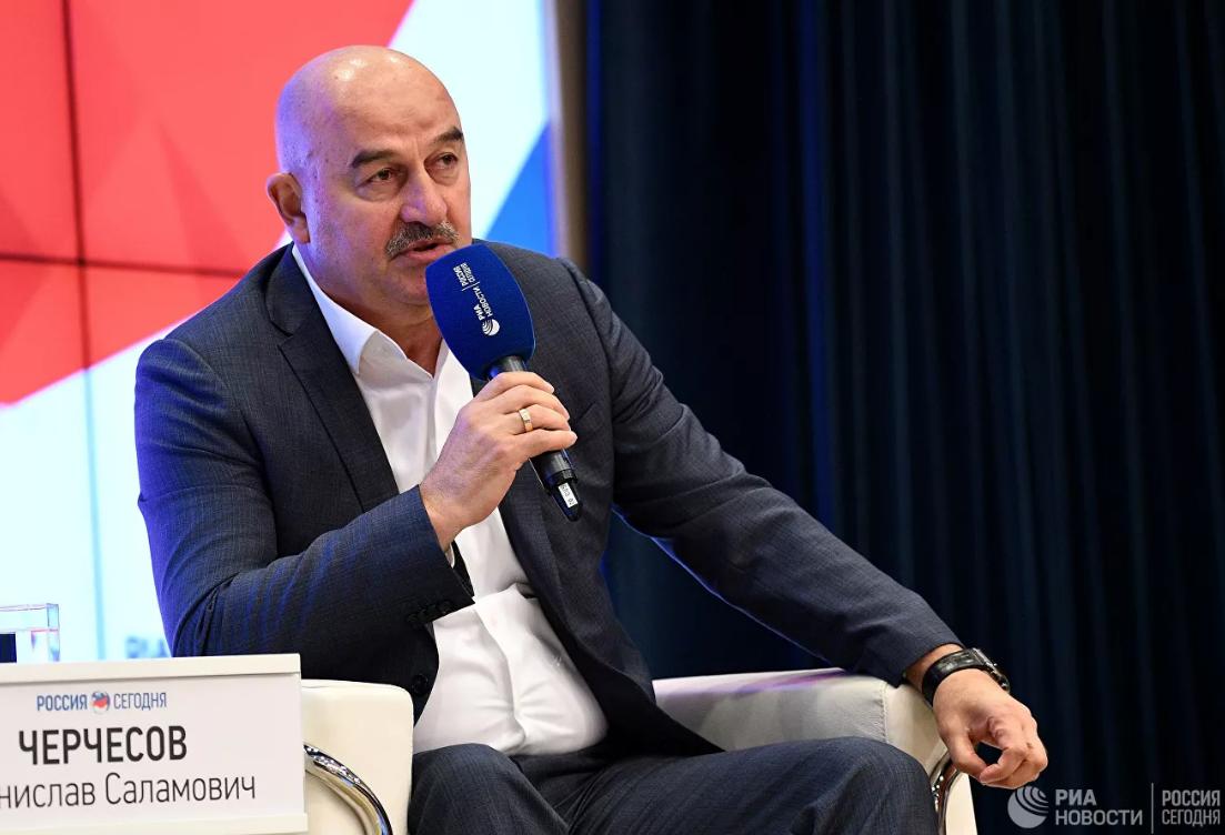 Черчесов: желаю сборной России выйти на чемпионат мира 2022 года