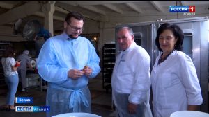 Северную Осетию посетил президент Российского союза пекарей Алексей Лялин