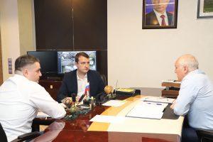 Вячеслав Мильдзихов провел рабочую встречу Тимуром Медоевым