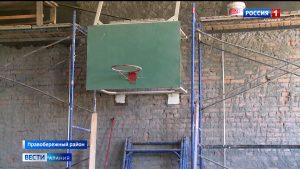 В сельских школах республики продолжается ремонт спортзалов