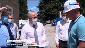 Таймураз Тускаев проверил ход работ более чем на 20 стройплощадках