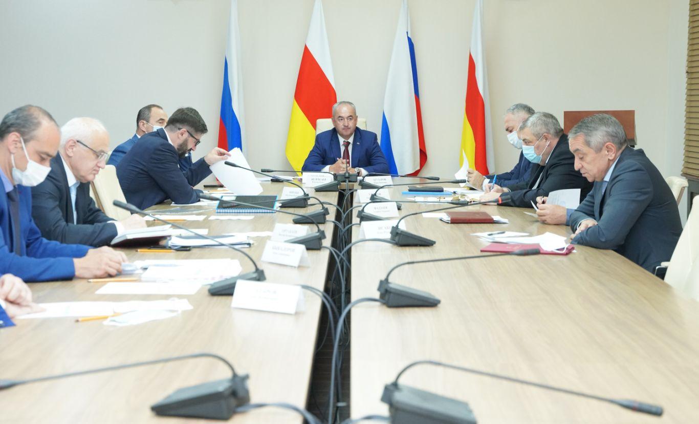 В правительстве Северной Осетии обсудили реализацию нацпроектов