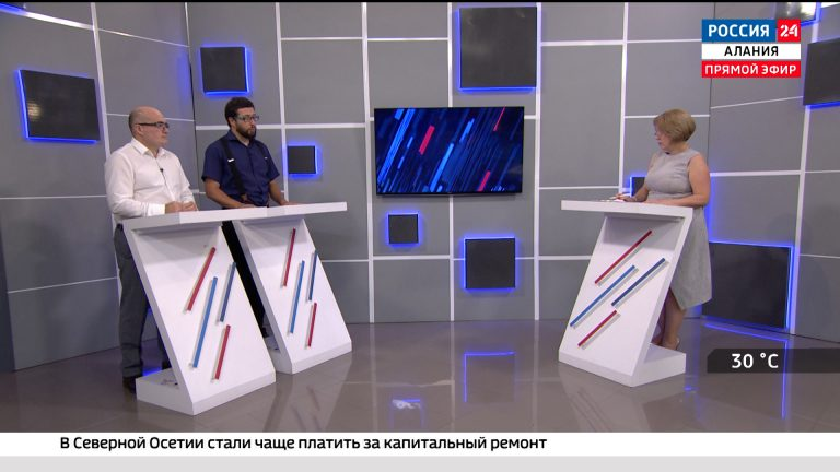Россия 24. Реконструкция рекреационной зоны Владикавказа