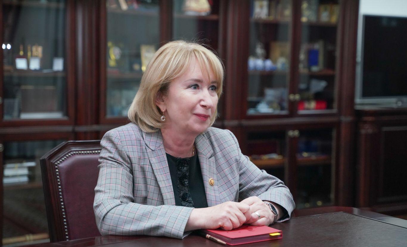 Сергей Меняйло провел рабочую встречу с председателем ЦИК Северной Осетии Жанной Моргоевой