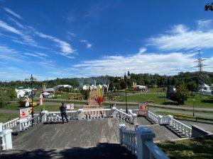 Во Владикавказе стартовали праздничные мероприятия, посвящённые Дню республики и Дню города