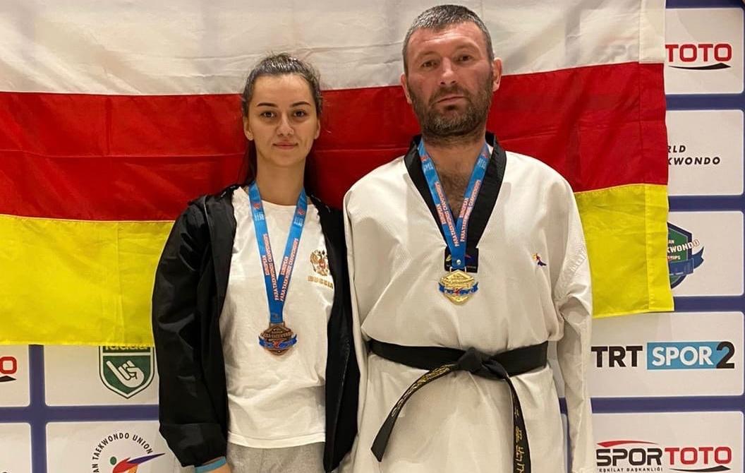 Спартак Газзаев — шестикратный чемпион Европы по паратхэквондо