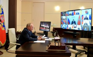 Владимир Путин попросил Сергея Меняйло передать жителям РСО-А поздравления с Днем республики и Днем города Владикавказа