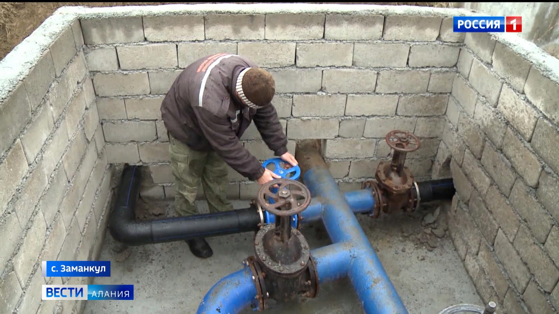 Реконструкцию системы водоснабжения в Заманкуле планируют завершить до наступления холодов